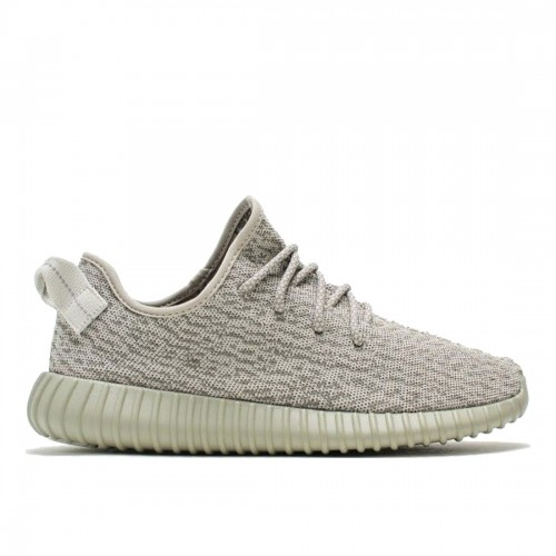 Authentic AQ2660 Adidas Yeezy 350 Boost Agate Gray-Moonrock-Agate Gray (Men Women)