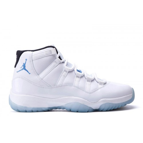 Authentic 378037-117 Air Jordan 11 Retro White/Black-Legend Blue Grade School's Shoe