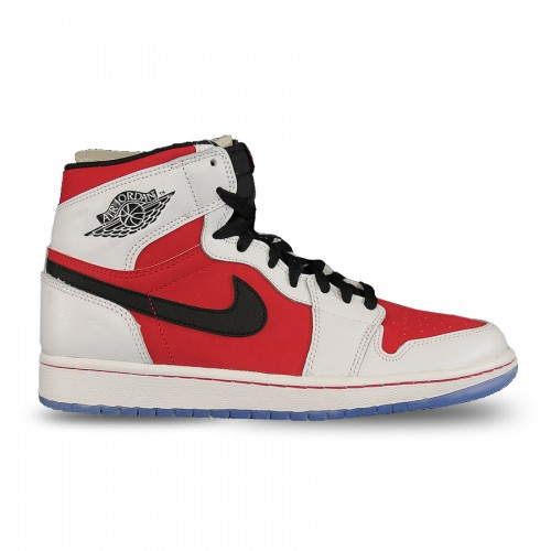 555088-123 Air Jordan 1 Retro High OG White/Black-Carmine