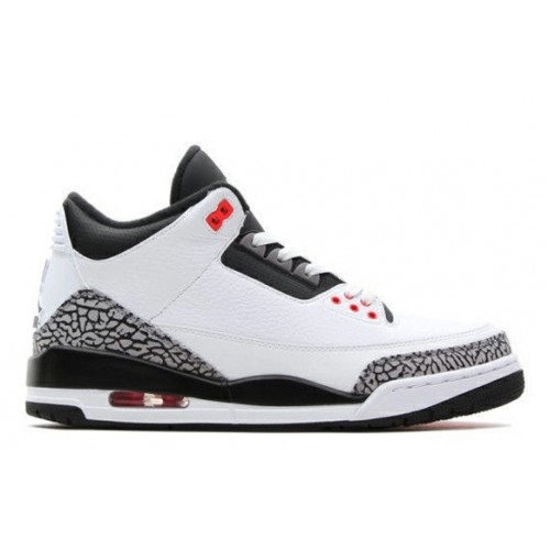 Authentic 136064-123 White/Cement Grey-Infrared 23-Black Online