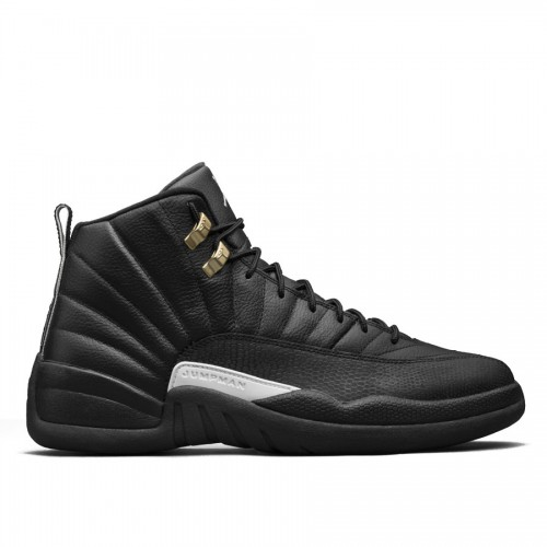 Authentic Air Jordan 12 The Master Retro 130690-013 Black/Rattan-White-Metallic Gold
