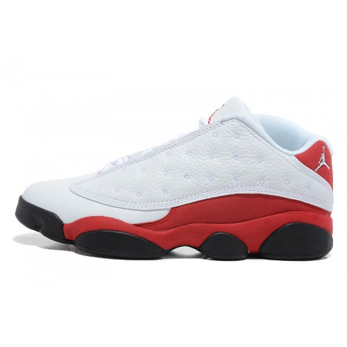 310810-105 Air Jordan 13 Retro Low White Red