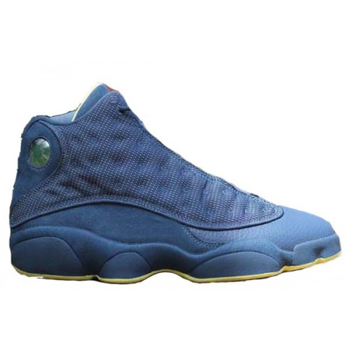 414571-405 Air Retro Jordan Squadron Blue 13s Electric Yellow-Black A13017
