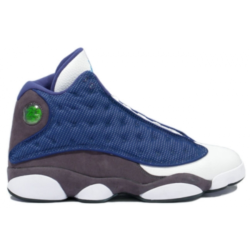 414571-401 Air Jordan 13 Flint French Blue University Blue Flint Grey A13009