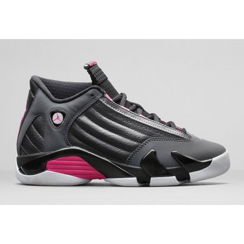 654969-028 Air Jordan 14 Retro Hyper Pink Womens Shoes