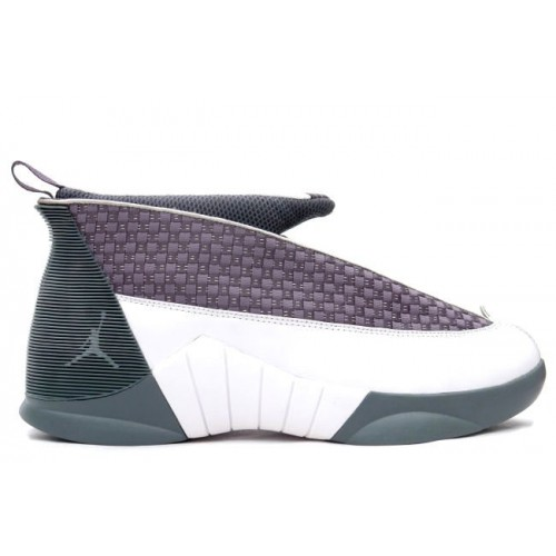 136029-011 Air Jordan 15 XV Original OG Flint Grey White A21001