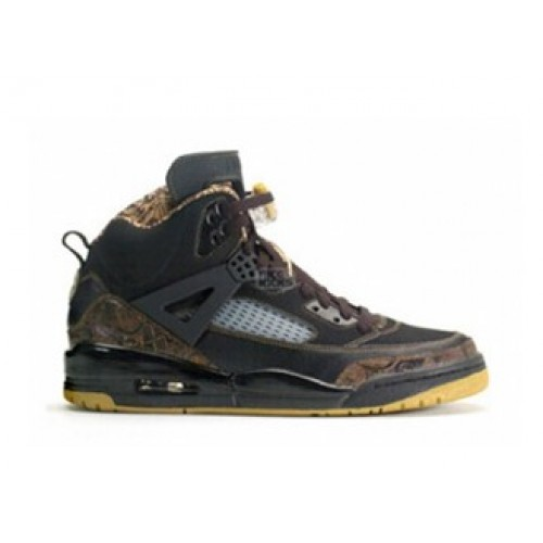 315371-072 Air Jordan Spizike Gold Dust Stealth Black Light Graphite White A23007