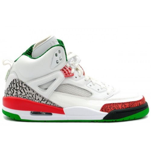 315371-161 Air Jordan Spizike White Varsity Red Classic Green A23011